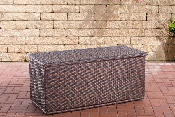 #KUBA 3: Auflagenbox Comfy 150-braun-meliert