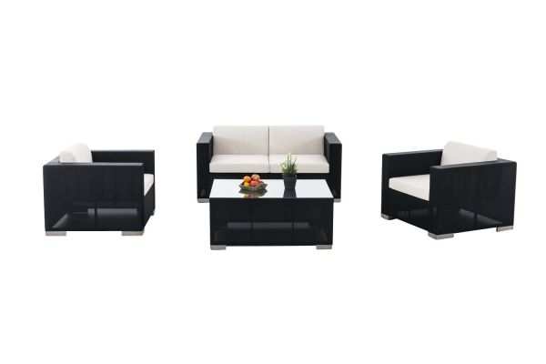 Garnitur Brac 2-1-1, Lounge-Set aus Stoff