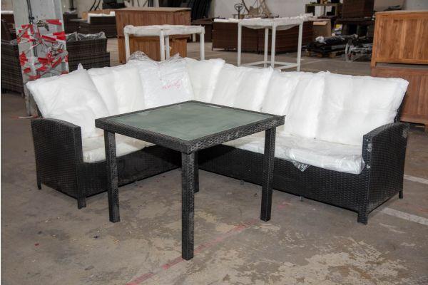 #HBM 2283: Sitzgruppe Bermeo mit Tisch Rio-schwarz