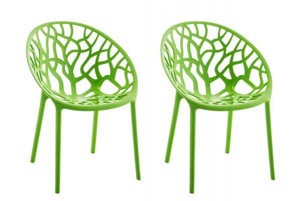 2er Set Stuhl Hope grün