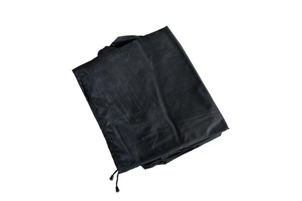 Abdeckhaube 119x69x62, Luxus Auflagenbox L schwarz