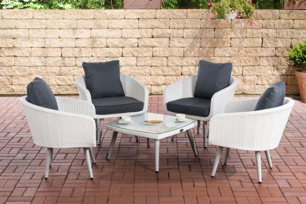 Lounge-Set Ameland Sitzhöhe 45 cm