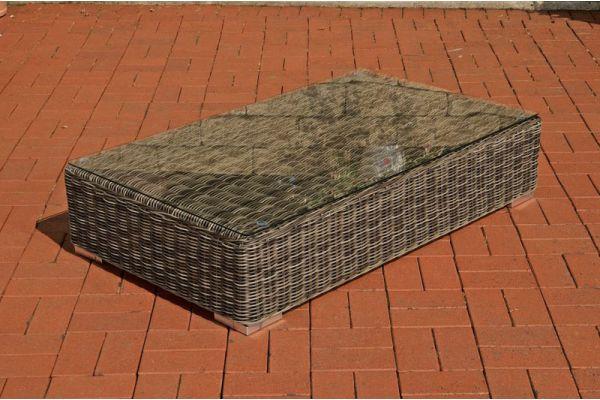 Lounge-Tisch Ariano 100 x 50 cm Rundrattan