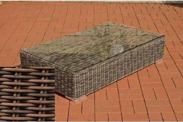 Lounge-Tisch Ariano 100 x 50 braun-meliert