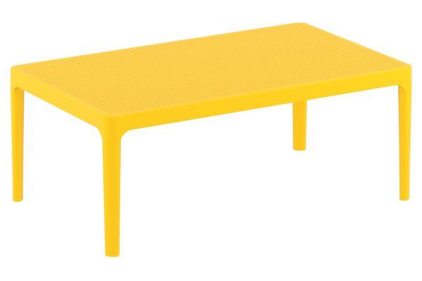 Lounge Tisch Sky gelb
