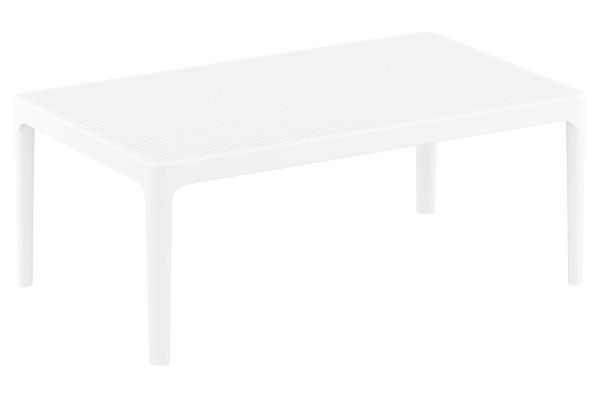 Lounge Tisch Sky weiß