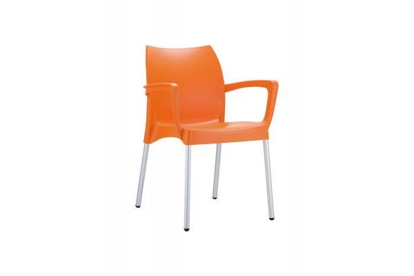 Stuhl Dolce orange