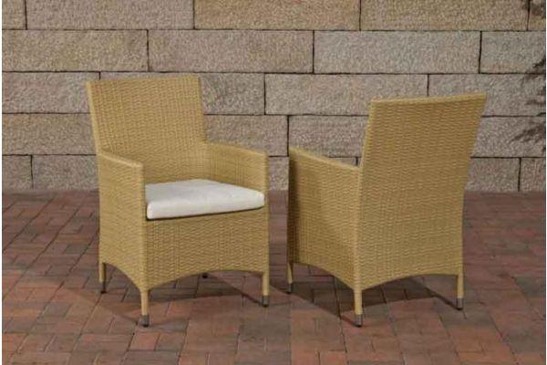 Stuhl Julia/Avignon/Tropea/Florenz Cremeweiß sand