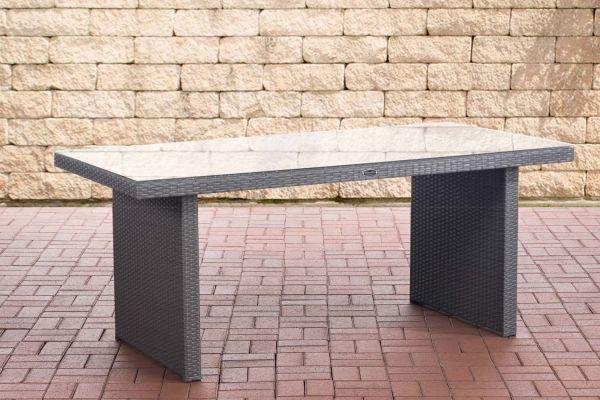Tisch Avignon 180 cm grau