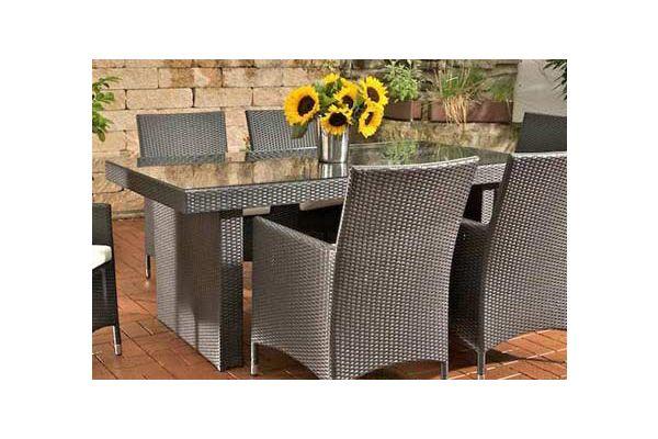 Tisch Avignon 180 cm schwarz
