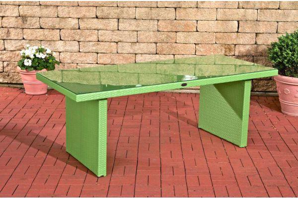 Tisch Avignon BIG 200 cm grün