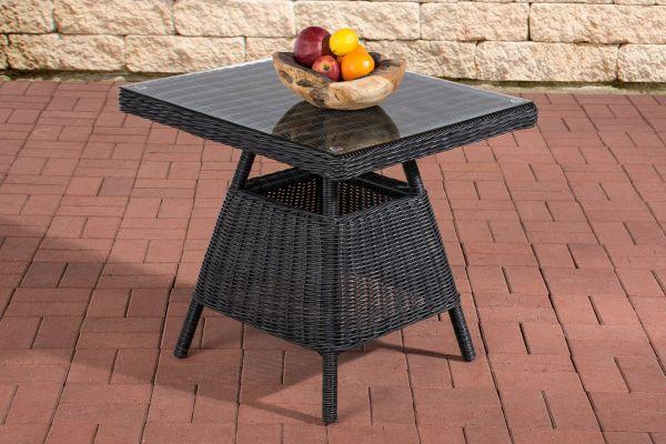 Tisch Santa Lucia schwarz