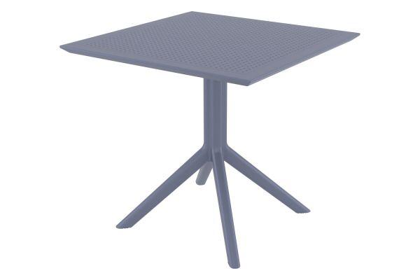 Tisch Sky 80 cm dunkelgrau