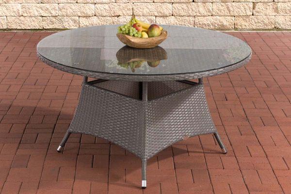 Tisch Venezuela 130 cm grau
