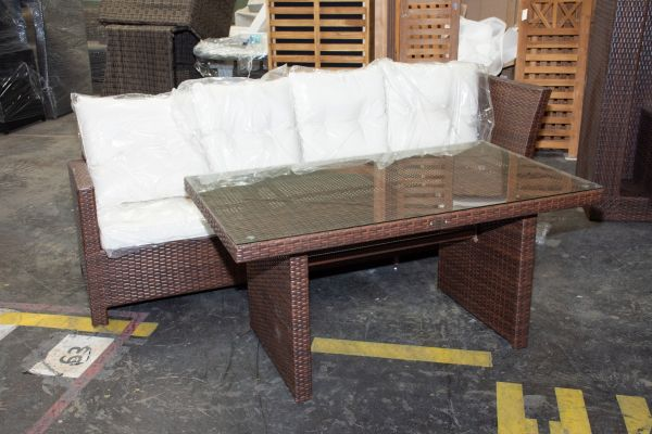 #HBM 505: 3er Sofa Bermeo mit Tisch Bermeo