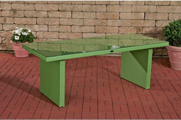 #G Tisch Avignon BIG 200x90 cm-grün