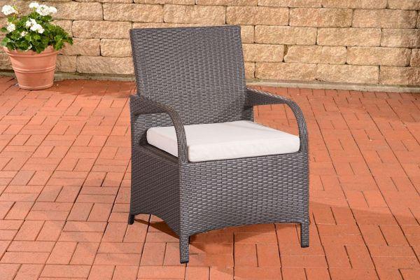 Stuhl Pizzo Cremeweiß grau