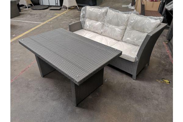 #HBM 607 2er Sofa mit Tisch Bermeo