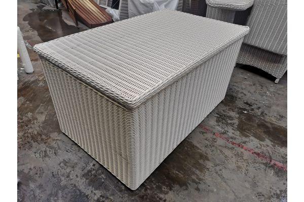 #HBM 796: Luxus Auflagenbox XL-perlweiß