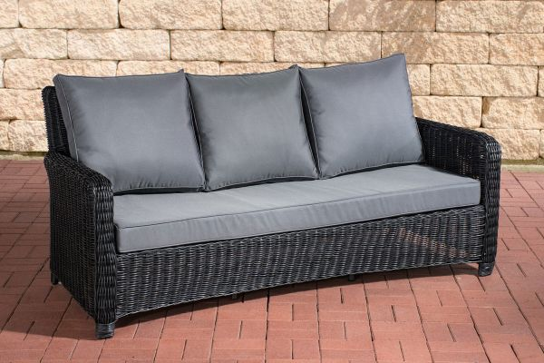 gartensofa rattan polyrattan. Black Bedroom Furniture Sets. Home Design Ideas