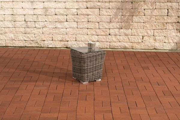 Gartenmöbel Beistelltisch Mandal 40x40cm