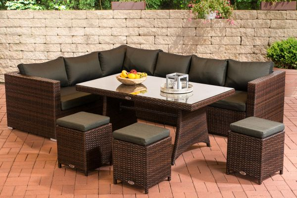 polyrattan garten sitzgruppe g nstig online kaufen. Black Bedroom Furniture Sets. Home Design Ideas
